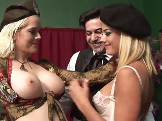 Highly Interesting Rectal 3Some Hook-Up With Whorey Blondes