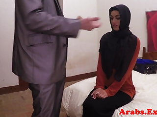 Arab habiba fucked like a whore of cash