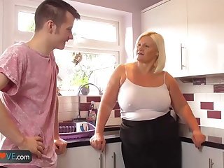 Agedlove mature fat blowjob and doggystyle