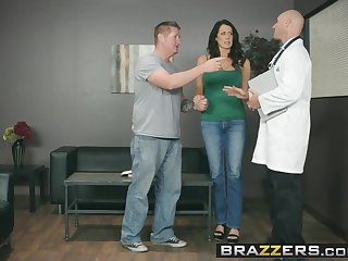 Brazzers - Doctor Adventures -  My Husband Is Right Outside.