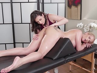 Aggravation up knead babe in arms gets her asshole rimmed in foreign lands