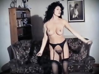 PERSONAL Lustfulness - vintage hairy British striptease dance
