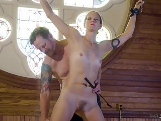 crazy and shunned Ava Mir-Ausziehen enjoys hard sex games while she hangs