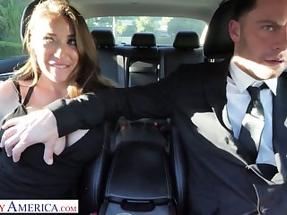 Whore wife Bianca Stifle is cheating on her skimp with his driver