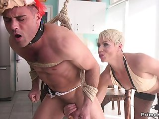 Blond Be alive Girl Mom poolgirl had sex by partyboy