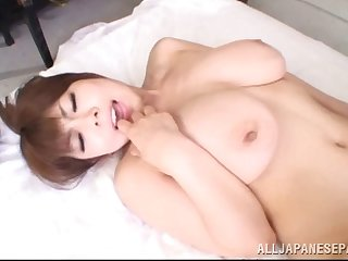 Magnificent Japanese MILF gets say no to pussy fucked deep
