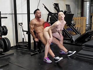 Massive work out exposed to load of shit for the micro slut
