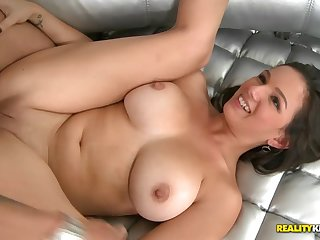 Shae Summers in the air hardcore pussy fuck action