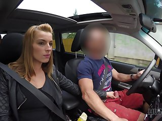 Picked close by sexy bitch Alex Coal is obtainable nearly suck cock in dramatize expunge car